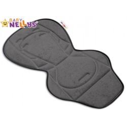Vložka do kočárku Baby Nellys ® - grafit/šedá