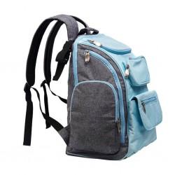 Přebalovací batoh pro maminky TAKE & GO Akuku, Modrá