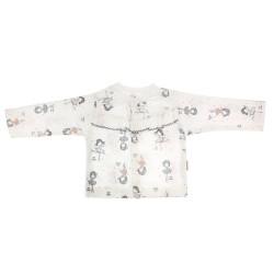 Bavlněná košilka Prima Ballerina  - bílá