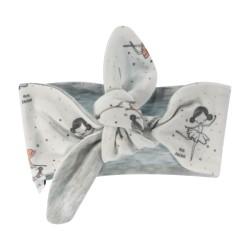 Šátek, čelenka Prima Ballerina, bílý