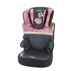 Autosedačka Nania Befix Sp Flamingo 2020, Růžová