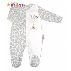 Bavlněný overálek ŽIRAFA Baby Nellys ®