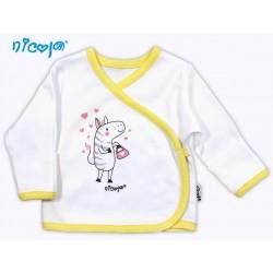 Novorozenecká košilka NICOL Zebra Sedmikráska