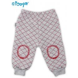 Tepláčky, kalhoty NICOL HASIČ - šedé, prošívané