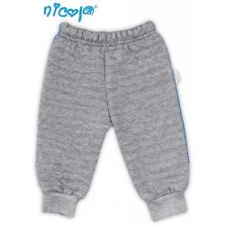 Tepláčky, kalhoty NICOL TUČŇÁK - šedé