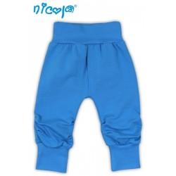 Tepláčky, kalhoty TUČŇÁK - tyrkysová