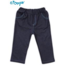 Tepláčky, kalhoty TUČŇÁK - jeansová