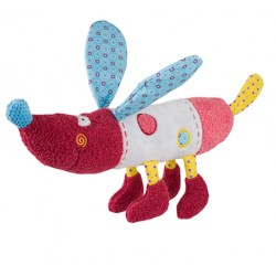 Edukační hračka Baby Ono - chrastítko - Pejsek Rob