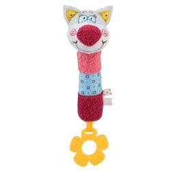 Edukační hračka Baby Ono - pískací - Kocourek Oliver