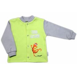 Bavlněná košilka NICOL JEŠTĚRKA - hráškově zelená