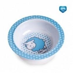 Melaminová miska s přísavkou Canpol Babies - Ovečka