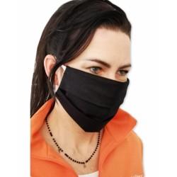 Bavlněná rouška, dvouvrstvá s kapsou na filtr na gumičku - dámské motivy