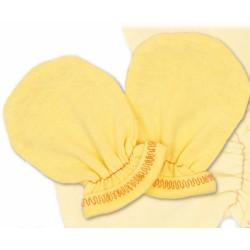 Rukavičky bavlna Terjan - krém, vel. 2