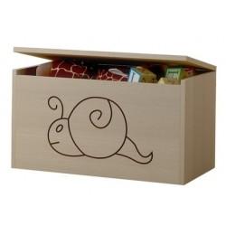 Box na hračky, truhla Šnek