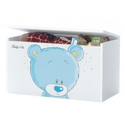 Box na hračky, truhla Medívek STYDLÍN modrý