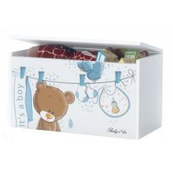 Box na hračky, truhla Medívek OUŠKO