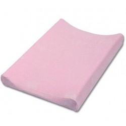 Jersey potah na přebalovací podložku - růžový