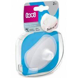 Lovi Chrániče prsních bradavek vel. M/L  - 2ks Soft as skin