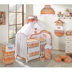 Moskytiéra lux - Srdíčko pomeranč