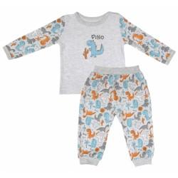 Bavlněné pyžamko Mamatti DINO