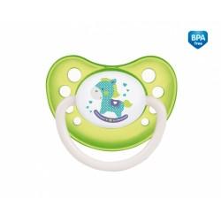 Dudlík anatomický Canpol Babies 18m+ C, Toys -  koníček zelený