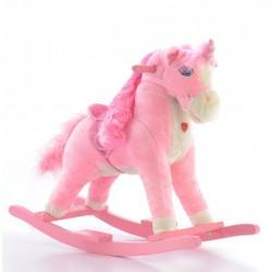 Houpací koník Jednorožec - růžový