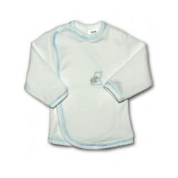 Kojenecká košilka s vyšívaným obrázkem New Baby modrá, Modrá, 56 (0-3m)