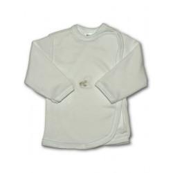 Kojenecká košilka s vyšívaným obrázkem New Baby bílá, Bílá, 68 (4-6m)