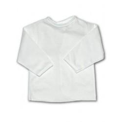 Kojenecká košilka New Baby bílá, Bílá, 56 (0-3m)
