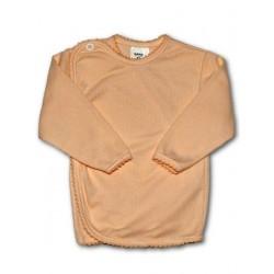 Kojenecká košilka proužkovaná New Baby oranžová, Oranžová, 68 (4-6m)