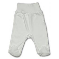 Kojenecké polodupačky New Baby bílé, Bílá, 80 (9-12m)