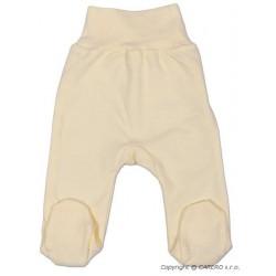 Kojenecké polodupačky New Baby béžové, Béžová, 56 (0-3m)