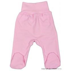 Kojenecké polodupačky New Baby růžové, Růžová, 56 (0-3m)