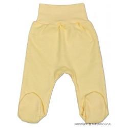 Kojenecké polodupačky New Baby žluté, Žlutá, 56 (0-3m)