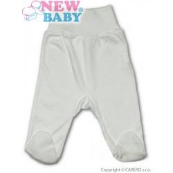 Kojenecké polodupačky New Baby bílé, Bílá, 56 (0-3m)