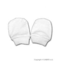 Rukavičky pro novorozence bílé