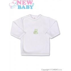 Kojenecká košilka s vyšívaným obrázkem New Baby zelená, Zelená, 50