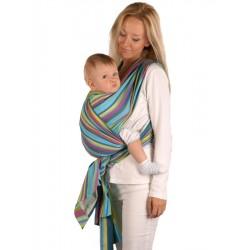 Šátek Womar na nošení dětí, Zelená