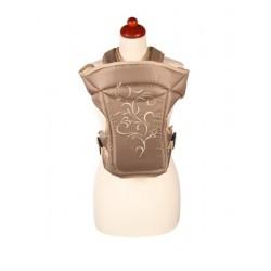 Nosítko Womar Zaffiro Butterfly bežové s výšivkou, Béžová