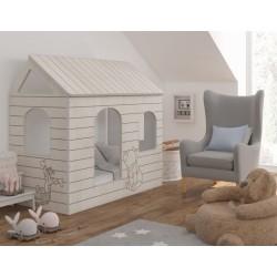 BabyBoo Dětská postel 160 x 80 cm - DOMEČEK