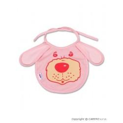 Dětský bryndák New Baby růžový, Růžová