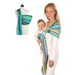 Šátek na nošení dětí Womar Hug Me, Zelená
