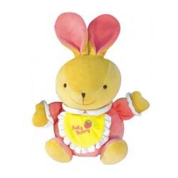 Dětská hračka s hracím strojkem Baby Mix zajíček