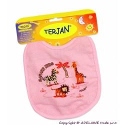 Bryndáček TERJAN - střední - růžový