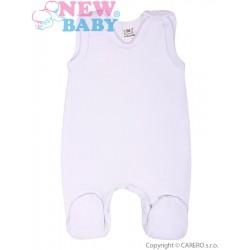 Dupačky bílé New Baby Classic, Bílá, 50