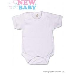 Body krátký rukáv New Baby Classic, Bílá, 56 (0-3m)