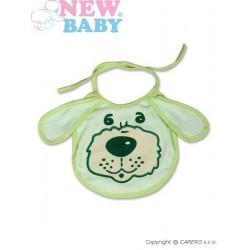 Dětský bryndák New Baby zelený, Zelená