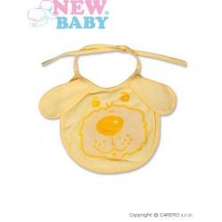 Dětský bryndák New Baby žlutý, Žlutá
