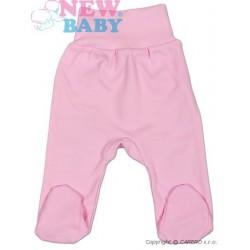 Kojenecké polodupačky New Baby Classic, Růžová, 50