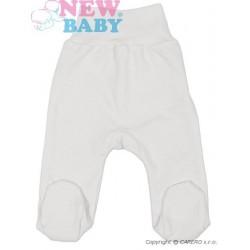Kojenecké polodupačky New Baby Classic, Bílá, 74 (6-9m)